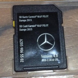 Card sd navigatie Mercedes, 2 modele - Software GPS
