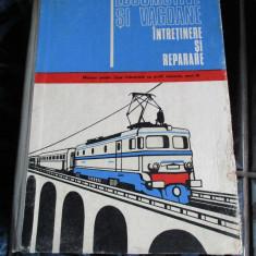 Locomotive si vagoane - intretinere si reparare - Traian Taran - Carti Transporturi