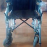 Scaun cu rotile (fotoliu rulant) pliabil