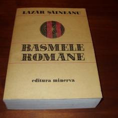 LAZAR SAINEANU - BASMELE ROMANE ( foarte rara, format mai mare, 769 pag.) *