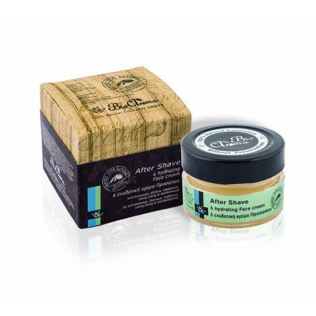 Crema hidratanta dupa barbierit cu Ylang Ylang, Trandafir, lemn de Santal 40 ml foto mare