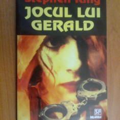 E0a Stephen King-Jocul Lui Gerald - Carte Horror