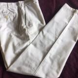 Pantaloni originali barbati PAUL & SHARK, mas. 50 - Pantaloni barbati, Culoare: Alb, Lungi