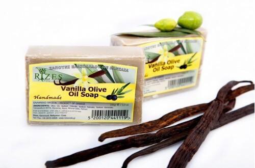 Sapun cu vanilie si ulei de masline 100 gr Rizes foto mare
