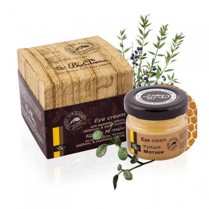 Crema anti-aging pentru ochi cu mirt, labdanum, ceara albine 25 ml foto mare