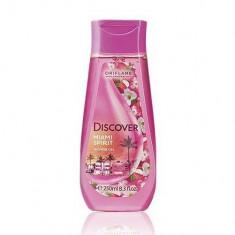 Gel de duş Discover Miami Spirit cu arome florale de Lychee (Oriflame)
