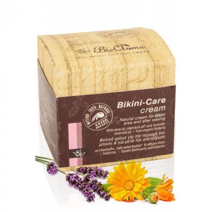 Crema ingrijire intima cu ulei de masline, musetel, lavanda 100% naturala 40 ml foto mare