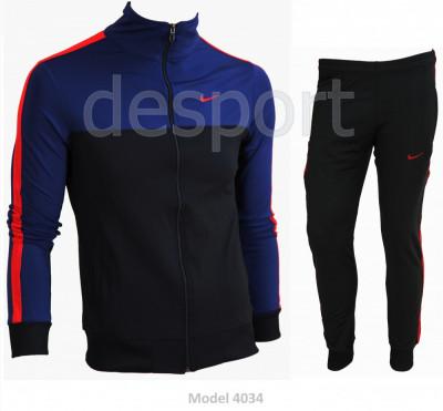 Trening barbati Nike - Model Nou - Silon - Bluza si pantalni conici Pret special foto