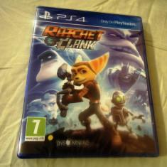 Ratchet and Clank, PS4, original si sigilat, alte sute de jocuri! - Jocuri PS4, Actiune, 3+, Multiplayer