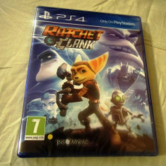 Ratchet and Clank, PS4, original si sigilat, alte sute de jocuri! - Jocuri PS4, Actiune, 3+, Multiplayer
