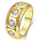inel placat cu aur