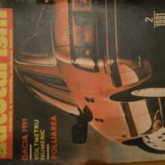 AUTOTURISM - NR 2 / 1991 - Revista auto