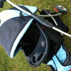 Carucior copii Baby Care - Carucior copii Landou Baby Care, Albastru