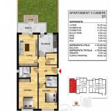 Apartament 3 camere UNIC, curte proprie!Bragadiru/Direct Dezvoltator!!! - Apartament de vanzare, 70 mp, Numar camere: 3, An constructie: 2017, Parter