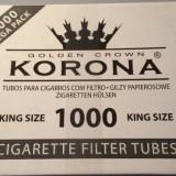 Pachet pentru fumatori tutun si tuburi pentru 1000 de tigari nu este tutun vrac