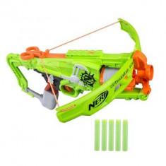 Arbaleta Nerf Zombiestrike Outbreaker Bow - Pistol de jucarie