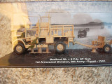 Macheta camion Bedford QL + 6 Pdr. AT Gun - Egypt - 1941 scara 1:72