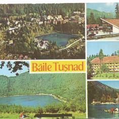 @carte postala(ilustrata)-HARGITA-Baile Tusnad - Carte Postala Dobrogea dupa 1918, Circulata, Printata
