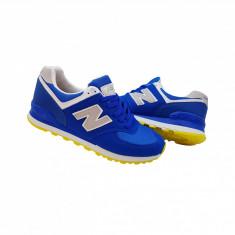 New Balance 574 model nou - Adidasi barbati New Balance, Marime: 39, 40, 41, 42, 43, Culoare: Albastru, Textil