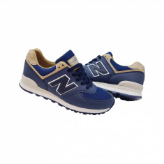 New Balance 574 model nou - Adidasi barbati New Balance, Marime: 36, 37, 38, 39, 40, 41, 42, 43, 44, Culoare: Bleumarin, Textil