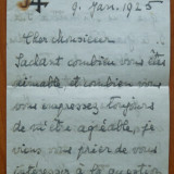 Scrisoare circulata , scrisa olograf , inclusiv plicul , de Regina Maria , 1935