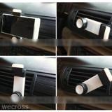 Suport auto ventilatie rotativ pentru telefon, smartphone, GPS