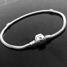 Bratara Pandora 20 si 21cm argint stantata s925 ale - Bratara argint