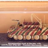 Macheta tanc macara Berghepanther - Germany - 1944 scara 1:72