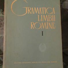Gramatica limbii Romane - vol 1 - Culegere Romana