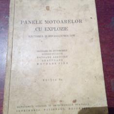 PANELE MOTOARELOR CU EXPLOZIE