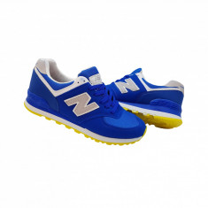New Balance 574 model nou - Adidasi barbati New Balance, Marime: 43, Culoare: Albastru, Textil
