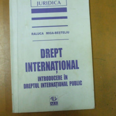 Drept international Raluca Miga - Besteliu Bucuresti 1997 - Carte Drept international