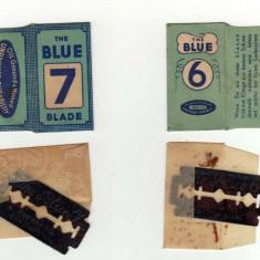 LAMA DE BARBIERIT BLUE 6 BLUE 7 BLADE COLECTIE