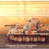 Macheta tanc Flakpanzer 341 Coelian prototype - Berlin - 1945 scara 1:72