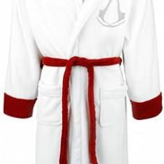 Halat De Baie Assassins Creed White Red Bathrobe