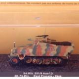 Macheta tanc Sd.Kfz. 251/9 - East Prussia - 1944 scara 1:72