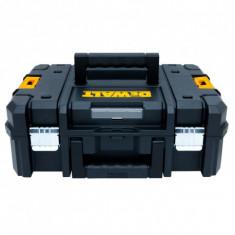 Cutie cu capac plat si separatoare personalizate din spuma poliuretanica DeWalt DWST1-70703 - Cutie depozitare