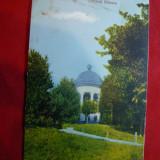 Ilustrata Craiova - Parcul Bibescu, color, interbelica