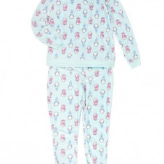 Pijama Dame Polar Pinguin - Pijamale dama, Marime: Masura unica, Culoare: Verde