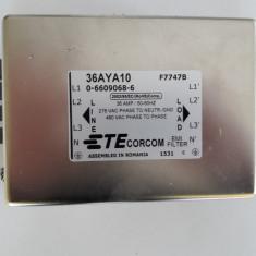 Filtru RFI/EMI CORCOM 36AYA10 36 AMP