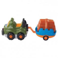 Jeep Cu Remorca Vtech Vt164603 - Masinuta electrica copii