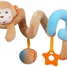 Spirala Cu Jucarii Monkey - Jucarie zornaitoare Baby Mix