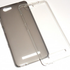 Husa Protectie Silicon Allview X3 Soul Lite - Husa Telefon, Transparent, Gel TPU
