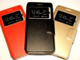 Husa Protectie Toc Flip Cover Allview X3 Soul Lite, Alt model telefon Allview, Negru, Piele Ecologica