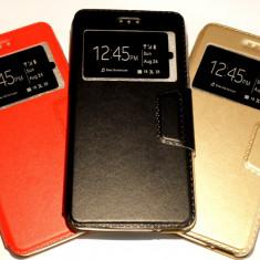 Husa Protectie Toc Flip Cover Allview X3 Soul Lite - Husa Telefon, Negru, Piele Ecologica, Cu clapeta