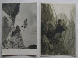 Lot Carti Postale Tematica Alpinism, Alpinisti - 2 bucati, circulate, Necirculata, Fotografie