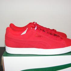 Adidasi PUMA Suede X Trapstar Mens Sneaker 361500 02 nr. 44 - Adidasi barbati Puma, Culoare: Rose, Piele intoarsa