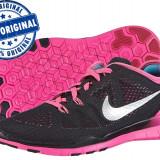 Adidasi dama Nike Free 5.0 - adidasi originali - running - alergare, Culoare: Negru, Marime: 37.5, Textil