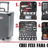 Trusa Scule-KRAFTROYAL-Premium-4 SERTARE-CR/V-Chei/Fixe/Tubulare