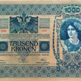 Bancnota 1000 Coroane - AustroUngaria/ doar AUSTRIA, anul 1902 *cod 414 a.UNC+